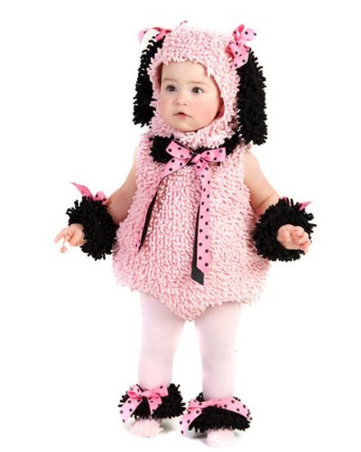 Pink Poodle Infant/Toddler Costume(12-18 -