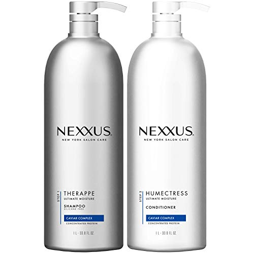 amazon com nexxus hydrating shampoo and conditioner for normal to