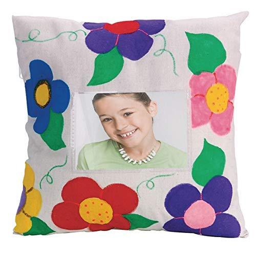 S&S Worldwide Happy Memories Pillow Case Craft Kit (Pack of 12) [並行輸入品] B07RCD9FB8