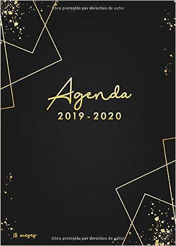 Agenda 2019-2020 18 meses: Organiza tu día - Agenda semanal ...