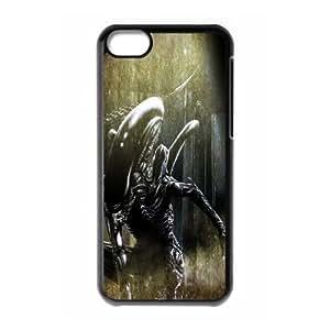 Alien Xenomorph iPhone 5c Cell Phone Case Black yyfabb-127687
