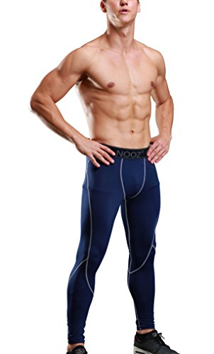 Yuerlian Men's 3 Pack Compression 3/4 Capri Shorts Baselayer