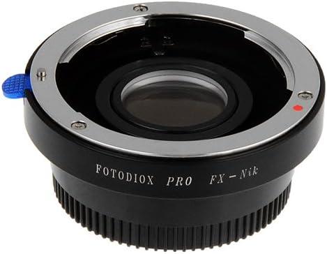 w//Iris Lens to Nikon DSLR Camera Adapter Fotodiox Pro Lens Mount Adapter Contax 645 for Nikon
