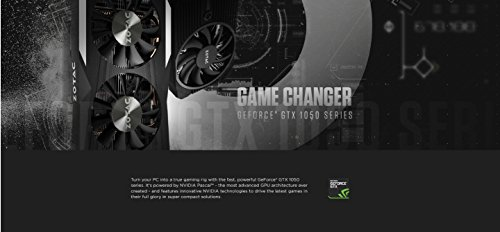 ZOTAC GeForce GTX 1050 Ti OC Edition 4GB GDDR5 Super Compact Gaming Graphics Card (ZT-P10510B-10L) by ZOTAC (Image #6)