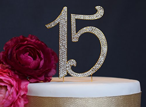 30-Rhinestone-Cake-Topper-Premium-Crystal-Rhinestones-Monogram-Number-Thirty-30th-Birthday-or-Anniversary