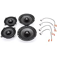1998-2003 Kia Sportage Complete Factory Replacement Speaker Package by Skar Audio