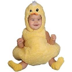 Dress Up America Cute Little Baby Duck, Yellow, 12-24 Months