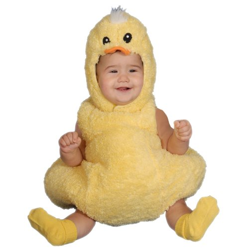 Baby Animal Halloween Costumes Cute (Dress Up America Cute Little Baby Duck, Yellow, 12-24)