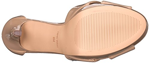 Nine West Women's Dryday Synthetic Heeled Sandal Natural Synthetic sale wide range of wholesale price online knLhPOcQQ2