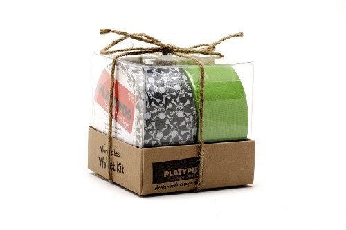 Duct Tape Wallet Kit (World's Best Duct Tape Wallet Kit | JOLLY ROGER + SOUR APPLE LINEN)