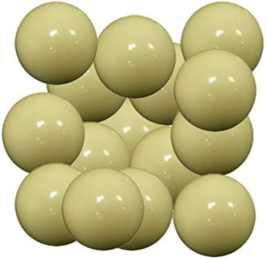 Arcam Bola futbolin Resina Color Blanco Brillo 35g 34mm 15 unid: Amazon.es: Deportes y aire libre