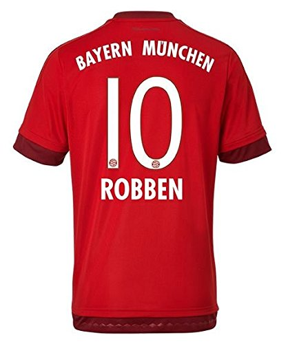 Bayern Munich Home 2015-16 Jersey with Robben 10