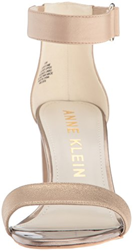 Natural Sandal Anne Dress Leather Womens Anne Light Klein Klein Watchme Womens Watchme RqwPf