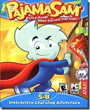 Pajama Sam Life is Rough When You Lose Your Stuff (PC) by Mecca