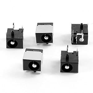 5 PC PJ042 Portátil de 2,5 mm DC Power Jack para Compal CL50 CL51 AL51 DAT20