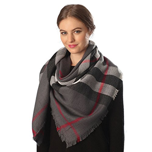 Fashion 21 Over sized Checked Blanket