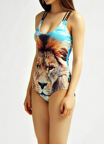 YICHUN - Traje de una pieza - para mujer Lion 5#