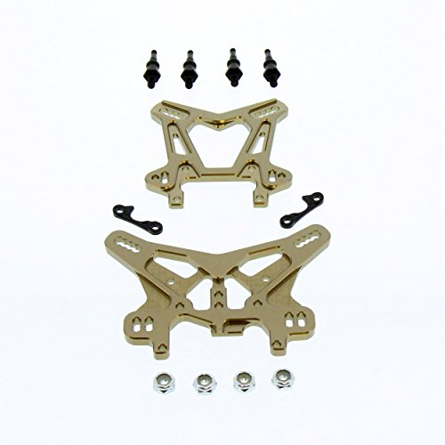 - Team Losi 8IGHT-E 4.0 Buggy 1/8: Front & Rear Aluminum Shock Towers & Stand-Offs