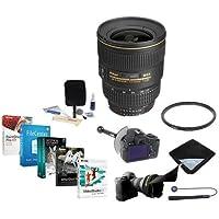Nikon 17-35mm f/2.8D ED-IF AF-S Super WA Zoom NIKKOR Lens Bundle w/UV Filter, FocusShifter & Software