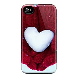 PmU15034sWam Cases Covers, Fashionable Ipod Touch 5 Cases - Snow Heart