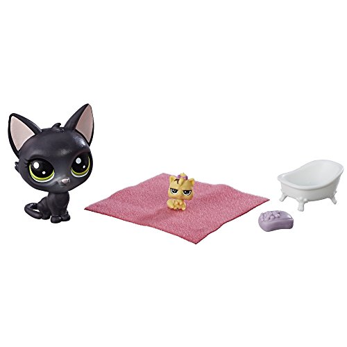 Littlest Pet Shop Jade Catkin & Kittylina - Littlest Pet Kittens Shop