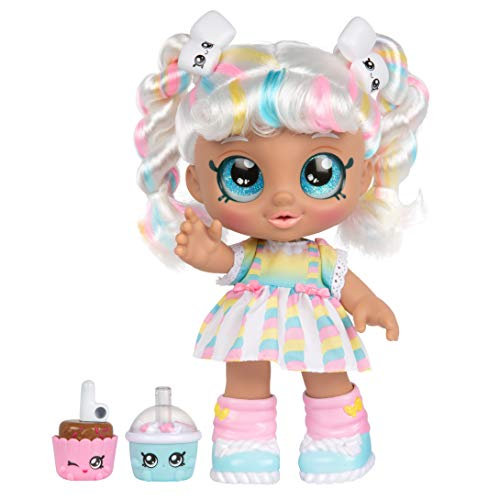 Kindi Kids Snack Time Friends – Pre-School Play Doll, Marsha Mello – for Ages 3+ | Changeable Clothes and Removable…