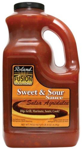 Roland Fusion Sweet & Sour Sauce, 1-Gallon Plastic Jug