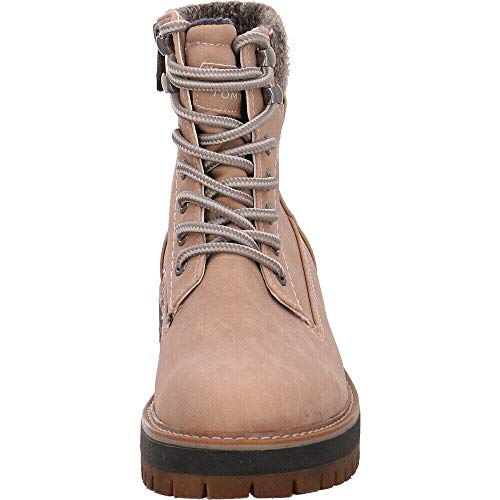 Tailor 5890001 01521 Women's Pink Ankle Boots Nude Tom qwfU4xndq