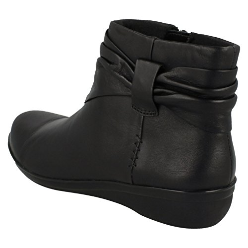 Boots Mandy Ankle Wide Everlay Clarks Womens Black Casual qw4An8z