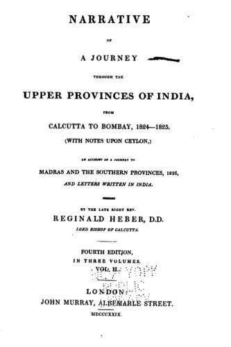 Narrative of a Journey Through the Upper Provinces of India PDF
