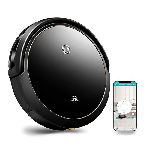 Robotic Vacuum Cleaner Alex APP Connectivity Strong Suction 1400pa,Super Thin Quiet Self Charging Robotic Vacuum for Dust,Pet Hair, Carpets, Hard Floors