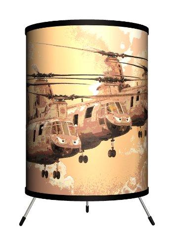 Lamp In A Box Tri Ttn 46Fli Transportation   Ch 46 Sea Knight Flight Tripod Lamp  14  X 8  X 8