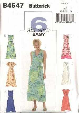 Amazon Butterick B60 Six Sew Easy DRESSES Sewing Pattern Size Simple Easy Dress Sewing Patterns