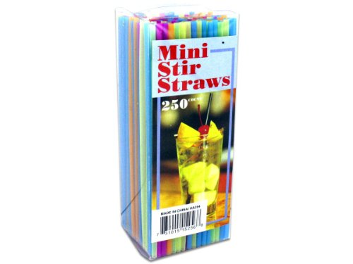 bulk buys Mini Stir Straws - Stir Coffee Straws
