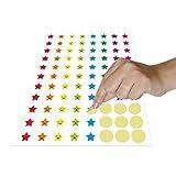 Mini Star Stickers Mega Bundle 5280 PCS in 8 Colors for Reward Behavior Chart 3/8 inch