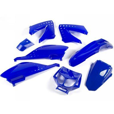 Set de carenado STR8, 8 Piezas para Derbi Senda, Color Azul: Amazon.es: Coche y moto