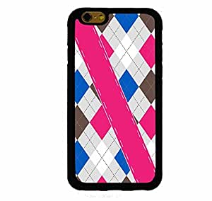 Argyle Sweater Pink Brown Blue iphone 5c ( inch screen) Rubber Case