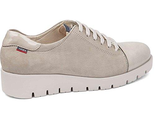Callaghan 89815, Zapatos de Cordones Derby para Mujer Perla