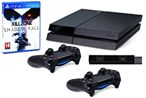 Playstation 4 - Console Con Camera, 2 Controller Dualshock 4 E Killzone: Shadow Fall [Bundle] [Importación Italiana]