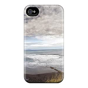New Arrival Beautiful White Cliffs On A Beach UpzmwHE5671GLHfZ Case Cover/ 4/4s Iphone Case