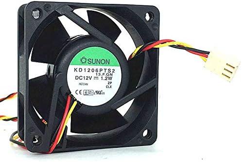 Ayazscmbs Cooler Ventilador para SUNON 6025 KD1206PTS2 F.GN 12V ...