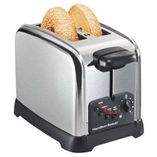 Hamilton Beach Classic Chrome 2 Slice Toaster