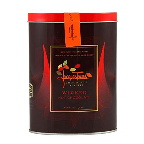 Jacques Torres Chocolate - Wicked Hot Chocolate in a Tin Box ()