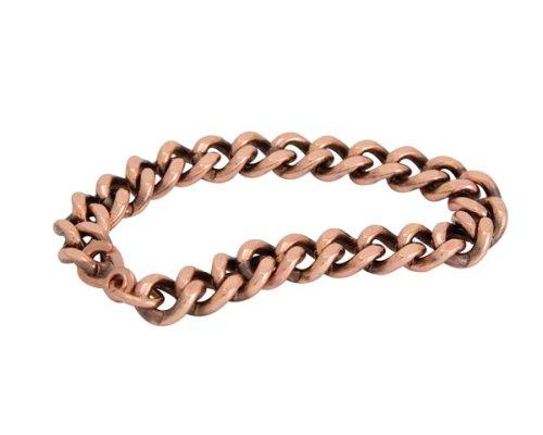 Apex Copper Bracelet Wide Link