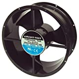 Fan 230VAC, 254mm x 107mm, 780/850 CFM, Ball bearing