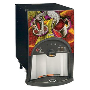 Bunn 38800.0000 LCA-2 LP Liquid Coffee Dispenser, Ambient Low Profile Unit with 2 Dispense Heads