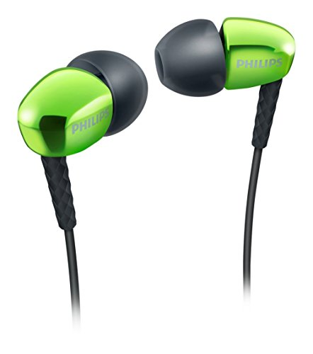 Philips She3900gn In-ear Headphones Earphones She3900 Green /Genuine