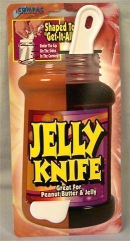 Compac Jelly Knife Spreader Plastic Knife and Jar Scraper fo