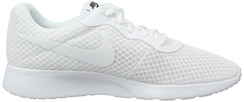 Nike Wmns Tanjun, Zapatillas Para Mujer Blanco (White / White-Black)