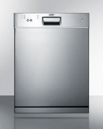 Summit DW2433SS Dishwashers, Stainless Steel by Summit